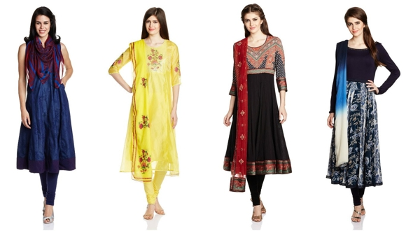 Amazon Churidar Kurtis beneath Rs.199, Amazon Salwar Go well with, Sarees
