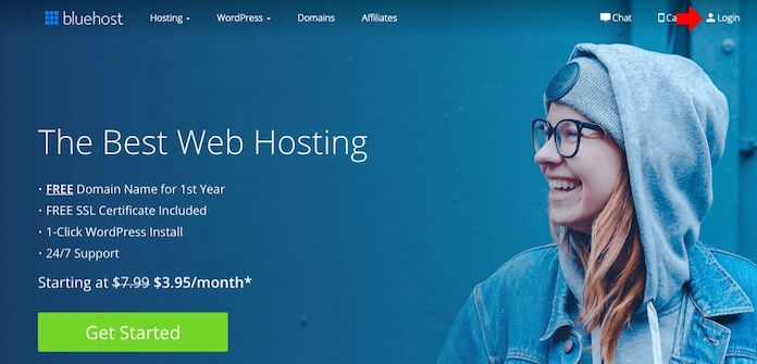 Webmail for Bluehost
