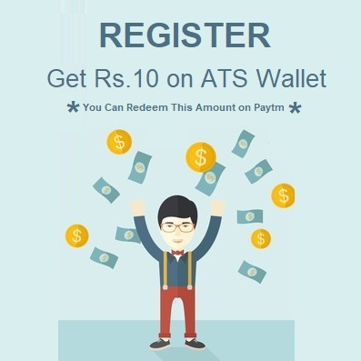 Get Rs.10 On Signup