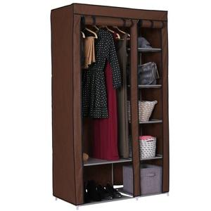 Home Carbon Steel Collapsible Wardrobe
