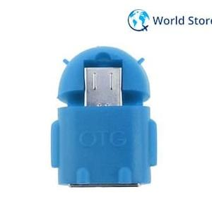 Magideal Micro USB 2.0 Converter OTG Adapter for Android Phone Tablet Samsung-Blue