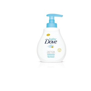 Baby Dove Rich Moisture Hair to Toe Baby Wash (400ml)