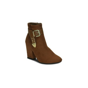 Kielz Tan-Suede-Women-Boots Boots For Women
