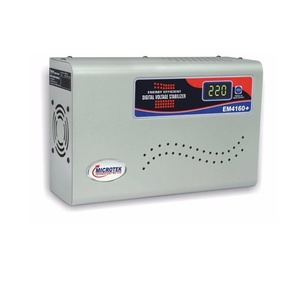 Microtek Em 4160+ R 160 V 285V Voltage Stabilize for Ac Upto 1.5 Ton