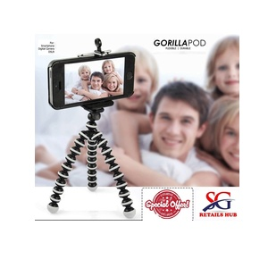 Gorilla Tripod Stand for Phone and Camera Flexible