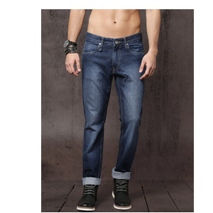 Roadster Men Blue Slim Fit Mid-Rise Clean Look Jeans