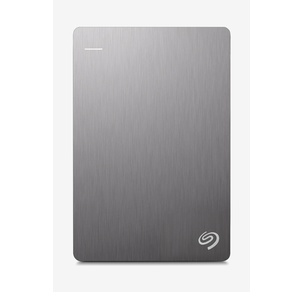 Seagate Backup Plus Slim 1 TB External Hard Drive (Silver)