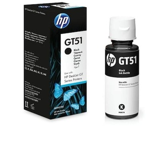 HP GT 51 Single Color Ink  (Black) HP GT 51 Single Color Ink