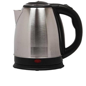 Emmkitz Electric Kettle (1.8 L, Silver, Black) IKIITZ Electric Kettle