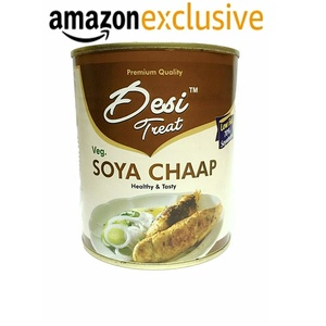 Desi Treat Veg Soya Chaap - 800G