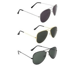 Zyaden Combo Of Three Sunglasses- Pack Of 3