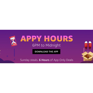 Amazon Appy Hours Blockbuster Deals: App Only Deals From 6PM To 12PM Midnight Today [8th July 2018]