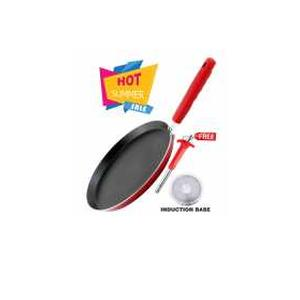 Nirlon Induction Non-Stick Aluminium Dual Color Tawa with Free Stainless Steel Lighter Rs.444 - Amazon