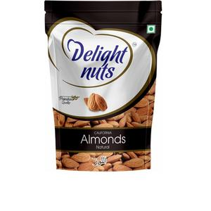 Delight Nuts California Almonds Natural 200g Almonds