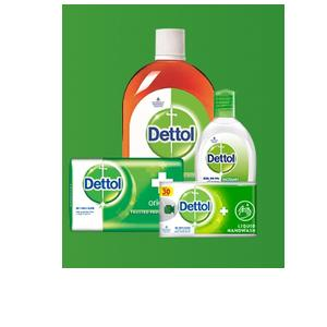 Dettol and Mom kit