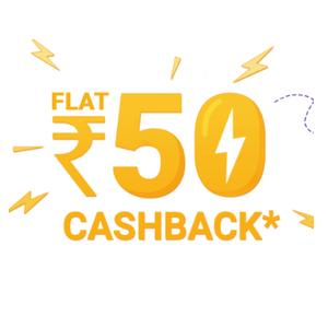 (All Users): Rs.50 Cashback On Rs.50 Recharge