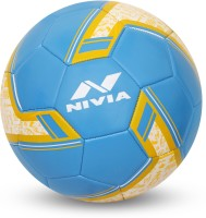 Nivia SPINNER MACHINE STITCHED FOOTBALL (ARGENTINA ) Football - Size: 5(Pack of 1, Blue)