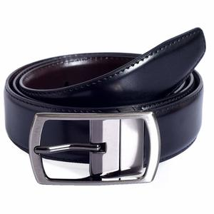 Firenzi Men's Belt (FMBE00215BLACK-BROWN-95_Multi-Coloured_38)