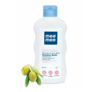 Mee Mee Gentle Baby Bubble Bath with Fruit Extracts, 500ml