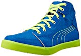 Puma Men's Drongos Idp Puma Royal and Safety Yellow Sneakers - 8 UK/India (42 EU)