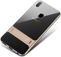 brand new 9bec8 26122 SPL Back Cover for Vivo V9, Vivo V9 Youth(Transparent Gold, Shock Proof,  Silicon, Plastic)
