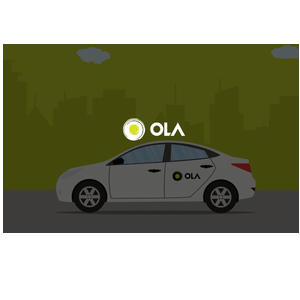 Get 50%, up to Rs.50 discount on 5 Ola rides from 1st September