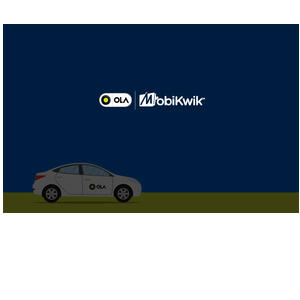 Get 100% SuperCash on 1st Ola ride on MobiKwik