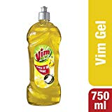 Vim Dishwash Gel - 750 ml (Lemon)