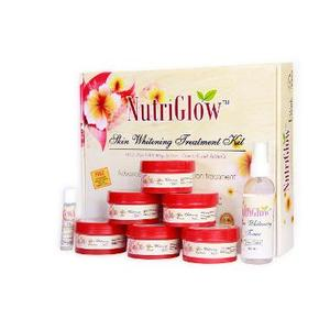 NutriGlow Skin Whitening Treatment Kit With Free Whitening Bleach Cream