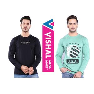 Big Loot- Any 2 Full Sleeve Tees at Rs. 56 [ Pay Via Mobikwik]
