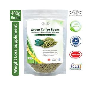 Sinew Nutrition Green Coffee Beans Decaffeinated & Unroasted Arabica Coffee 400g