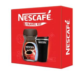 Nescafe Black Travel Kit Instant Coffee 200