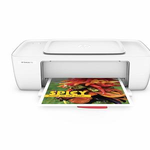 Roll over image to zoom in HP DeskJet 1112 Single Function Inkjet Colour Printer