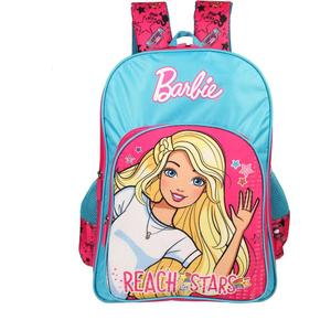 Barbie Reach To Stars 16' ' School Bag  (Pink, Blue, 30 L)