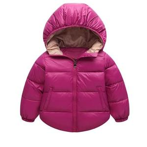 Child Winter Kids Fashion Hooded Wadded Jacket Snowsuit