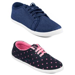 Asian Women's Combo pack of 2 Sneakers For Women