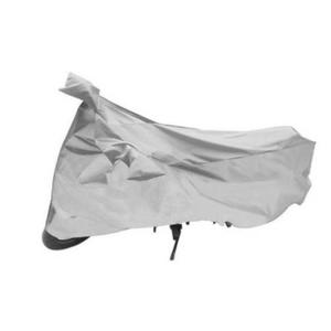 Two Wheeler Cover for Universal For Bike  (Silver)
