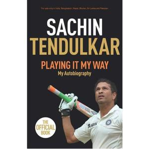 Playing It My Way  (English, Paperback, Tendulkar Sachin)