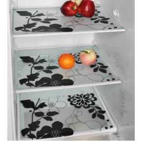 Home Creations PVC Classic Refrigerator & Drawer Mat, Designs & Color May Vary, Set of 12 (Free 12 Coasters)