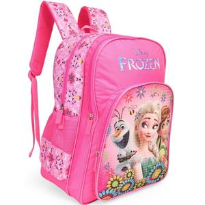 Disney Frozen Floral Pink 18' ' School Bag  (Pink, 35 L)
