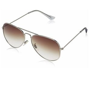 MTV Aviator Men's Sunglass (MTV-123|C23 58|Brown)