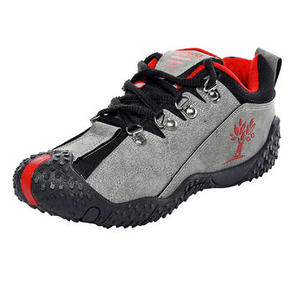 Men's Casual Shoes (Grey Red)