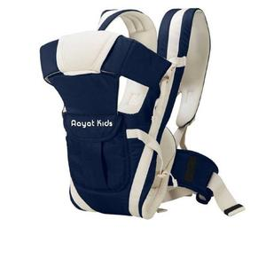 Aayat Kids No.1 Amaze Solid Heavy Care with Belt Baby Carrier  (Dark Blue, Front Carry facing in)