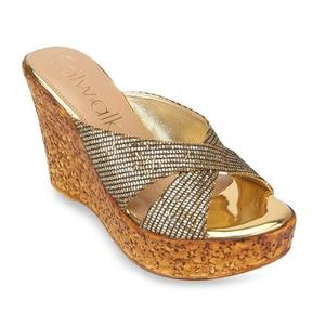 Catwalk Catwalk Antique Gold Wedges
