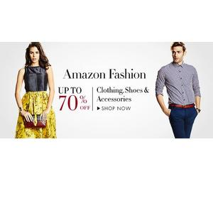 AMAZON FASHION  every man and woman's wardrobe.