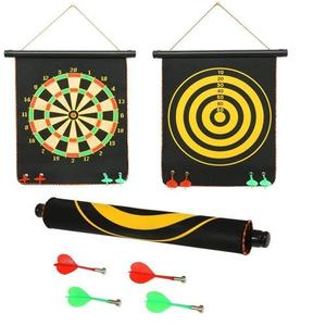 FunBlast Magnet Dart Board Game for Kids ,Double Sided Magnet Dart Board with Darts, Size- 12 Inches