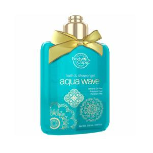 Body Cupid Aqua Wave Shower Gel - No Sulphate & No Paraben - 250mL