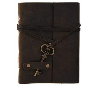Rjkart A6 Diary  (Handmade Classic Design Leather, Brown)