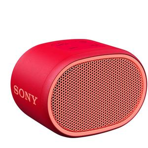 Sony XB01 Portable Bluetooth Speaker  (Red, Mono Channel)