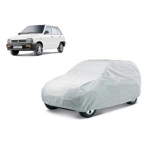 Tatkal Shopping Fun Car Cover For Maruti Suzuki 800 (Without Mirror Pockets)  (Silver)